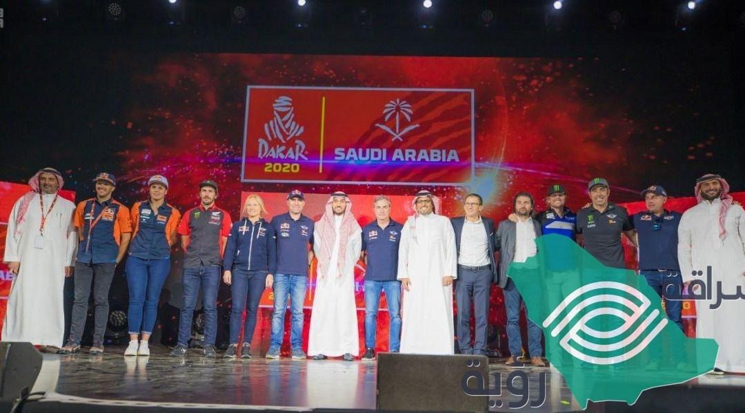 تعلن الهيئة العامة للرياضة عن فتح باب التسجيل لرالي داكار السعودية 2020