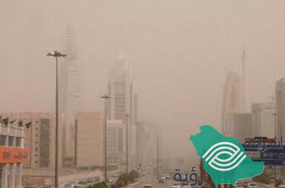 الأرصاد: أمطار رعدية على المرتفعات وعوالق ترابية وسط وشرق المملكة