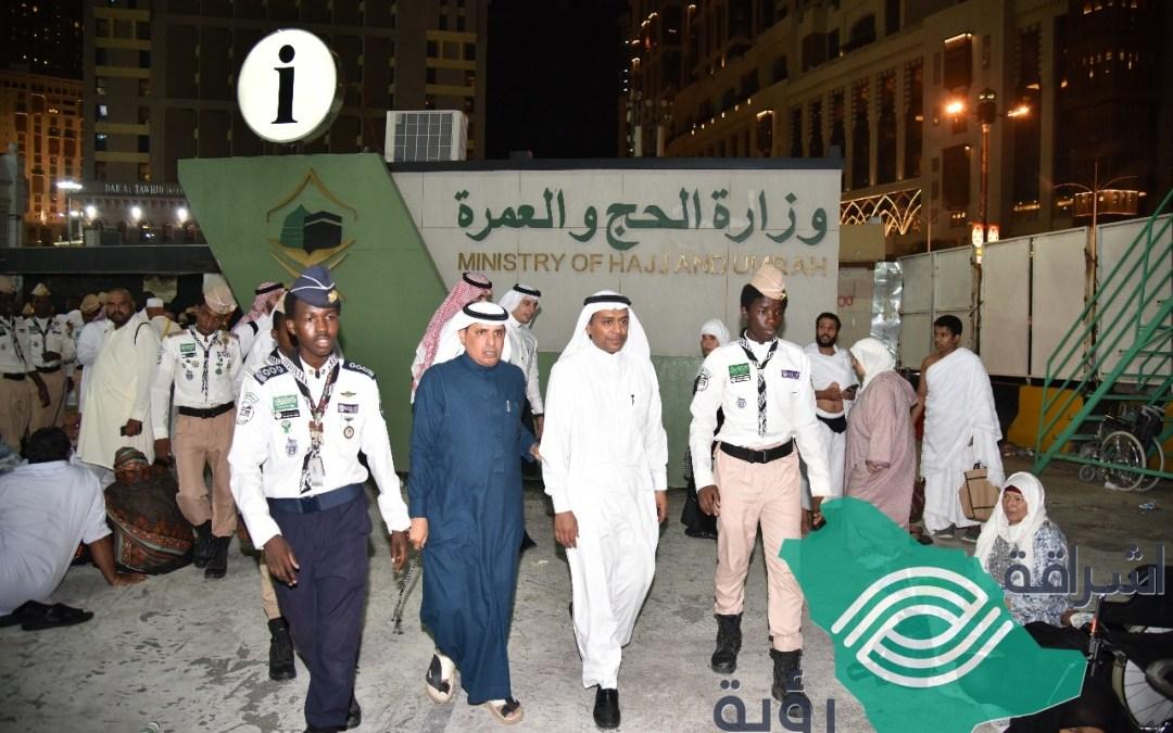 كشافة شباب مكة عبر شركة محطات العالم يسيرون على نهج الملك سلمان وولي عهده في خدمة المعتمرين والزوار في المنطقة المركزية
