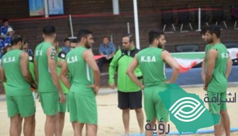 """""""بطولة آسيا"""" الأخضر السعودي يلاقي المنتخب العماني في كرة اليد الشاطئية"""