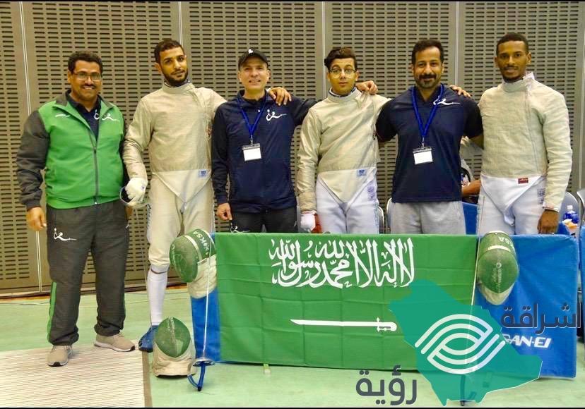 يختتم المنتخب السعودي للمبارزة مشاركته في البطولة الآسيوية غداً