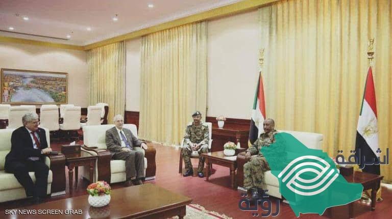 مبعوث أمريكي في السودان ومناقشات بشأن القيادة المدنية