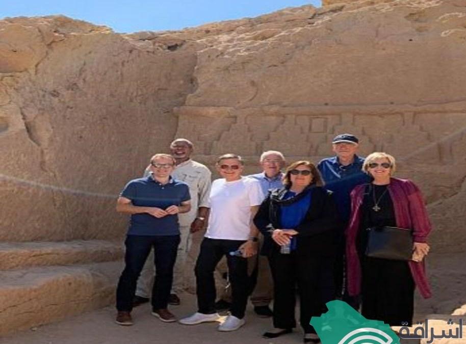 زيارة وفد القيادات المسيحية الانجيلية لمنطقة نيوم .