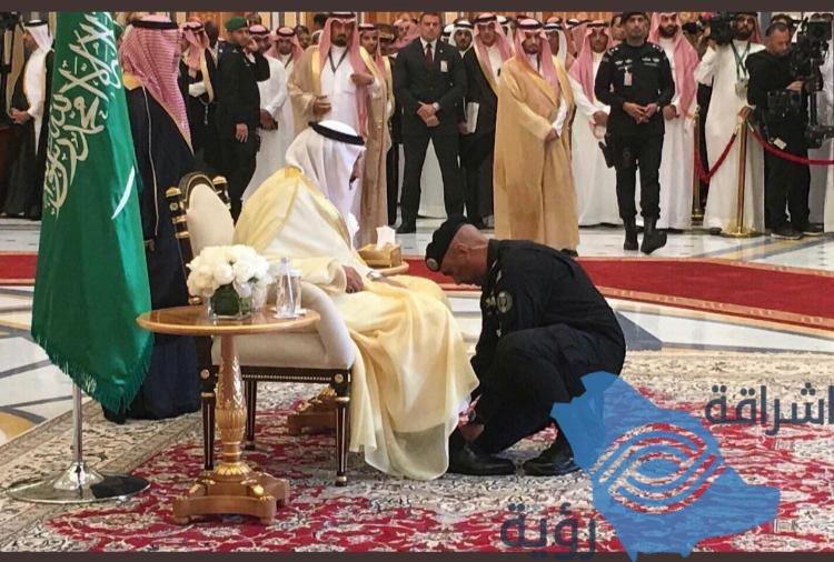 عاجل / وفاة الحارس الشخصي للملك سلمان بن عبدالعزيز