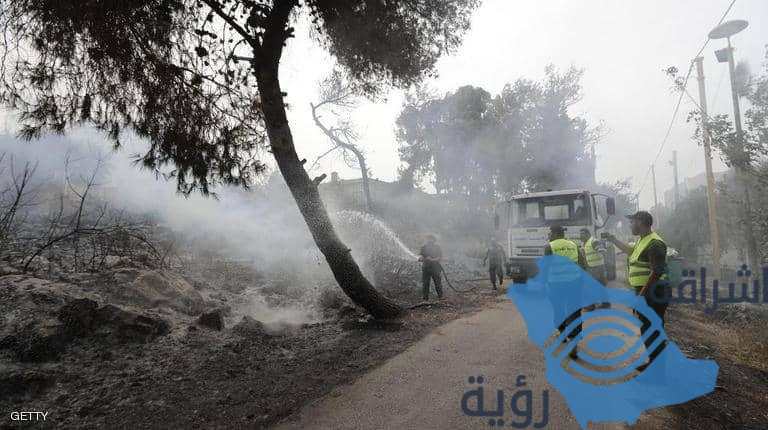 إخماد معظم حرائق لبنان.. والسيطرة عليها بعد ٤٨ساعة