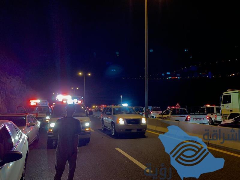 حـادث سير في جبل الكر بالهدا.. والجهات المختصة تباشر (صور)