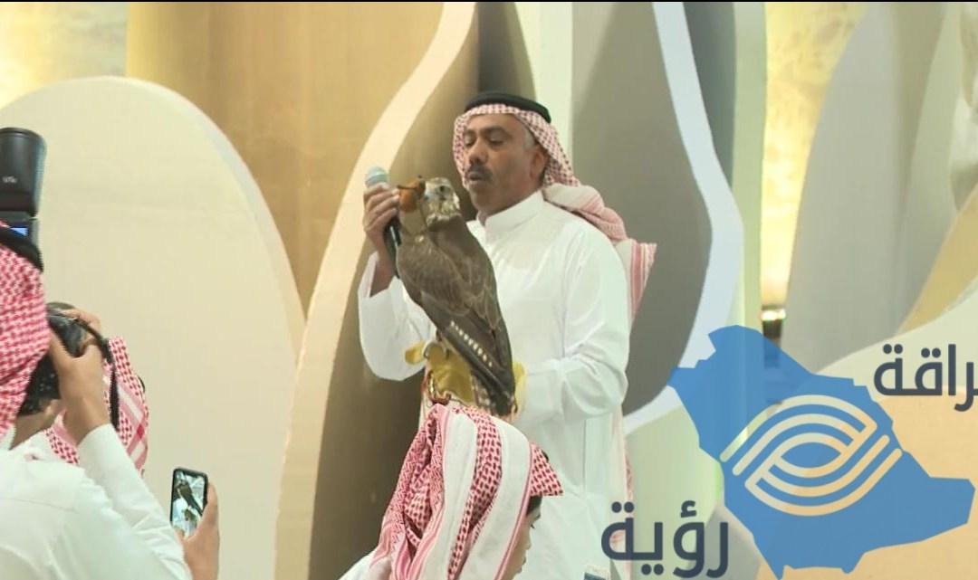 مبيعات الصقور في معرض الصقور والصيد السعودي الثاني تجاوزت الـ مليوني ريال .