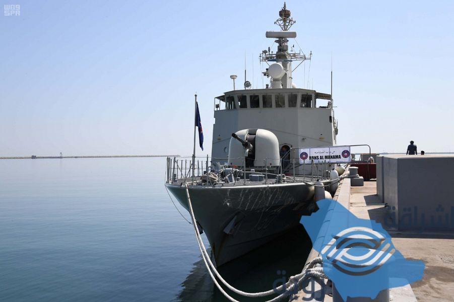مياه الخليج العربي تحتضن انطلاق مناورات التمرين البحري المختلط.
