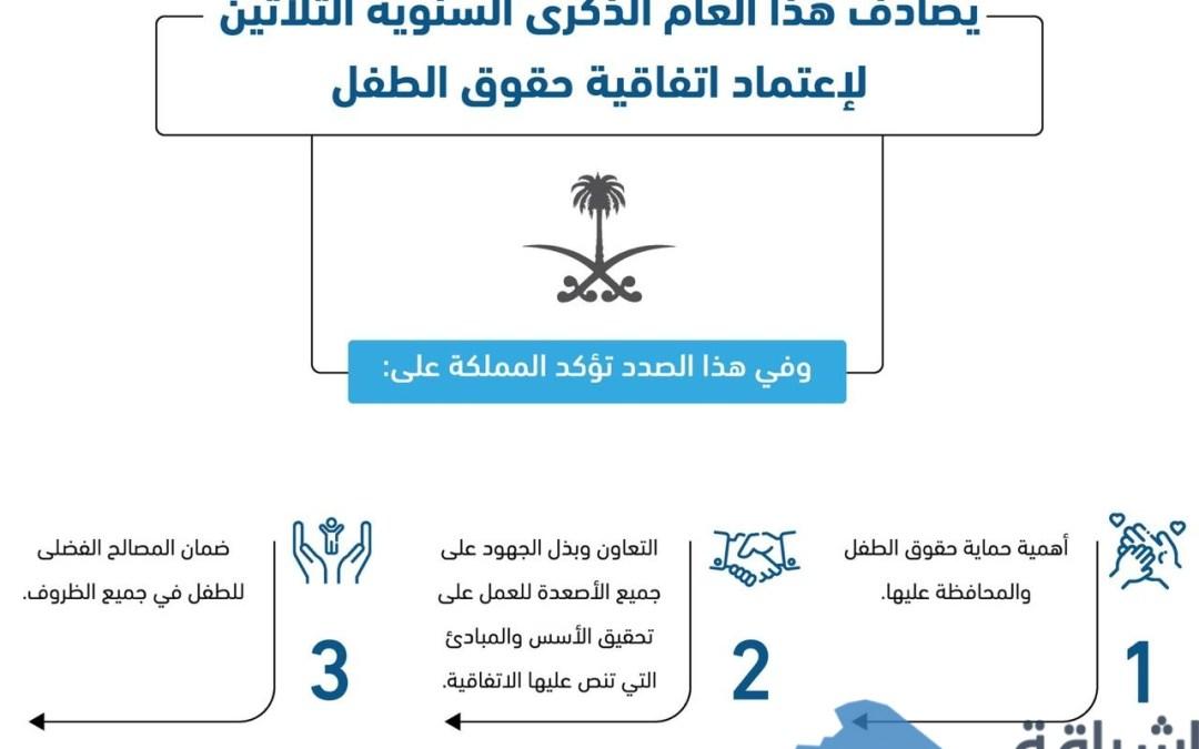 """"""" هيئة حقوق الإنسان"""" تؤكد على أن الأنظمة المعمول بها في السعودية تكفل حماية حقوق الطفل"""
