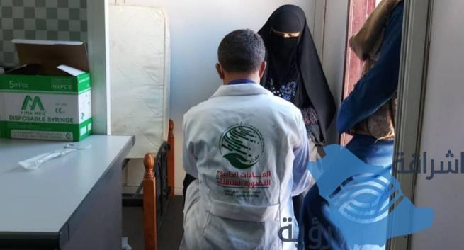 العيادات الطبية التغذوية المتنقلة تُقدم خدماتها في مخيم الخانق