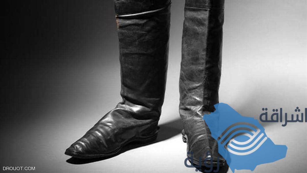 حذاء نابليون في مزاد والسعر 80 ألف يورو