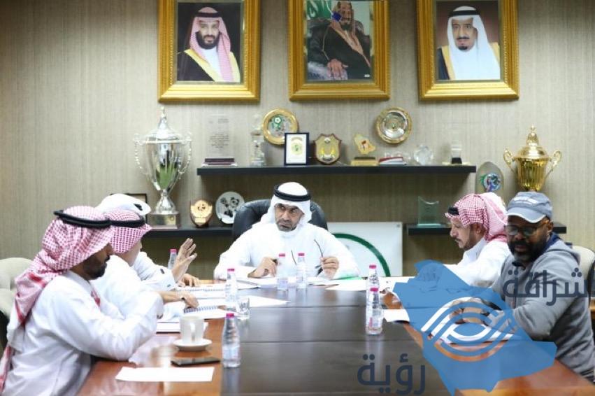 اجتماع رئيس اتحاد كرة القدم برئيس رابطة الدوري السعودي بشأن مشاركات المنتخب الأول والأولمبي