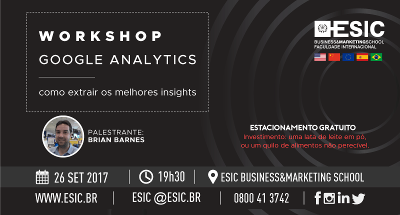 WORKSHOP - Google Analytics