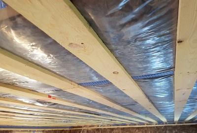 Forskalling og isolering af loft