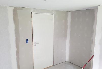 Opsætning af gips vægge
