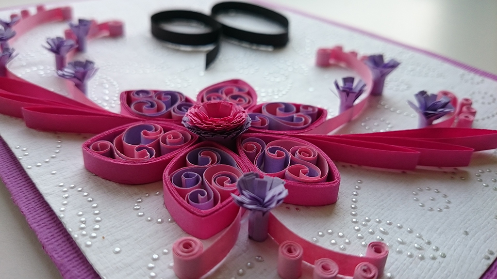 Quilling blomst