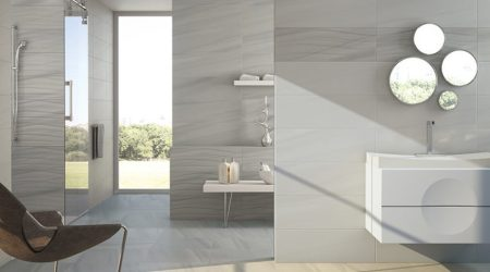 Azulejos para el baño El color gris está de moda Ideas!