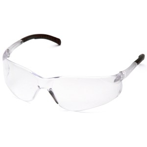 Clear Safety Glasses ATOKA Clear Lens with Clear Temples #S9110S