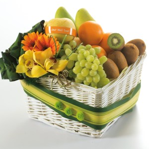 fruits mangoes basket