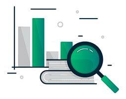 """Инфографика - """"изучение рынка при аутсорсинге"""""""
