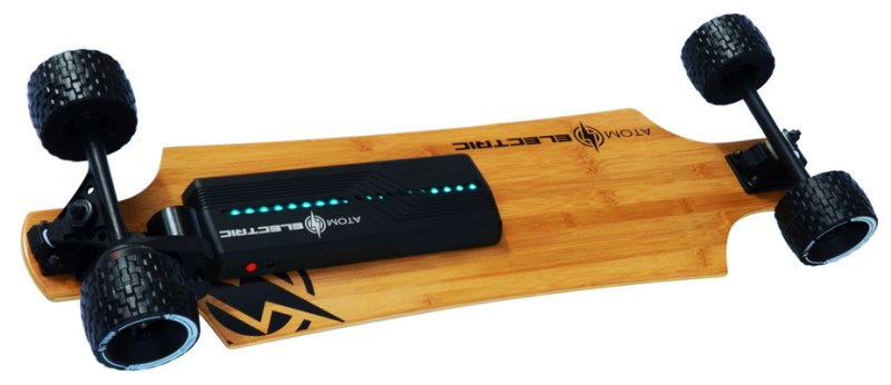 Atom B10X All Terrain Electric Skateboard Underneath