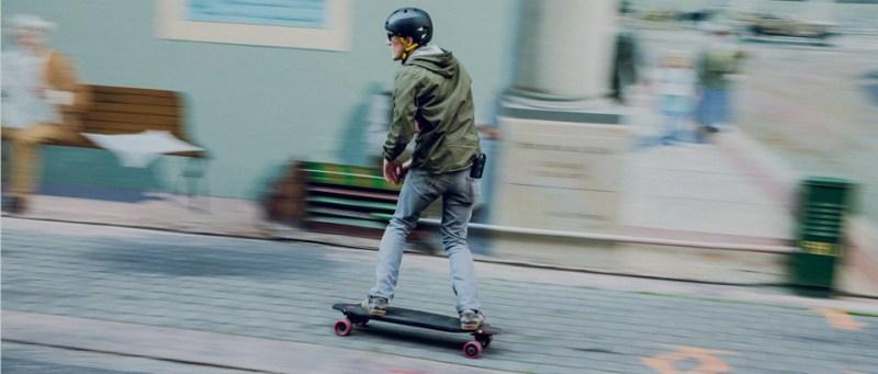 Inboard M1 Electric Skateboard Rider