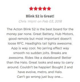 Acton Blink S2 Electric Skateboard Review 1