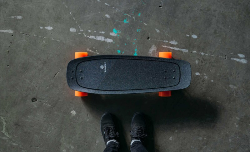 Boosted Mini Top On Concrete