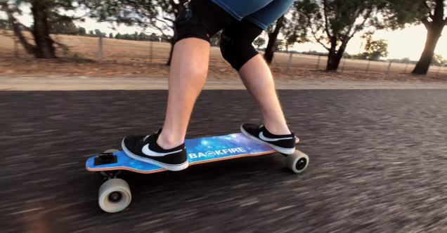 Riding the Backfire G2T