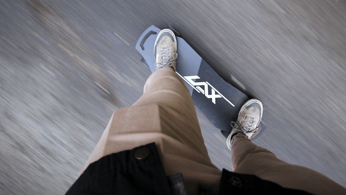 Riding the Laxboards Lax One eBoard