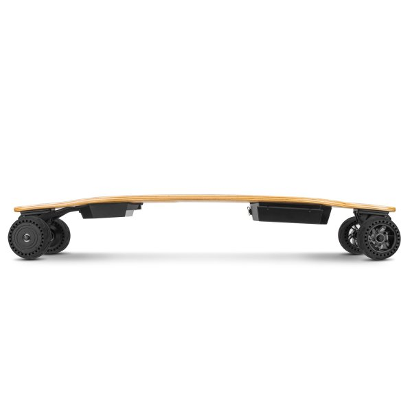 Triple Boards 1.0 electric longboard profile view