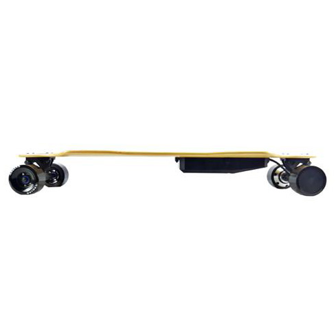 AEboard AF electric skateboard side profile view
