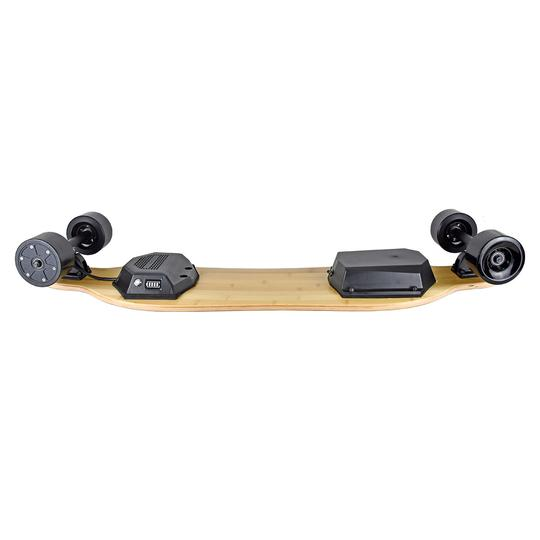 AEboard G5 electric skateboard underneath deck side profile