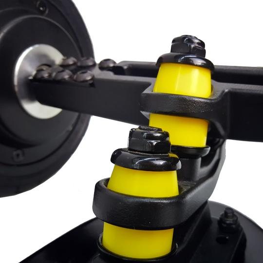 AEboard GT electric skateboard double kingpin trucks