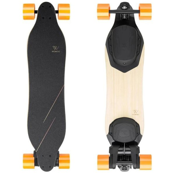 WowGo 3X top of deck and underneath