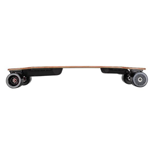 Backfire G2 Black electric skateboard side profile view