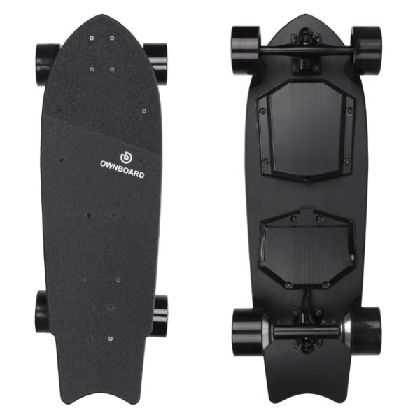 Ownboard Mini KT electric skateboard top and underneath deck