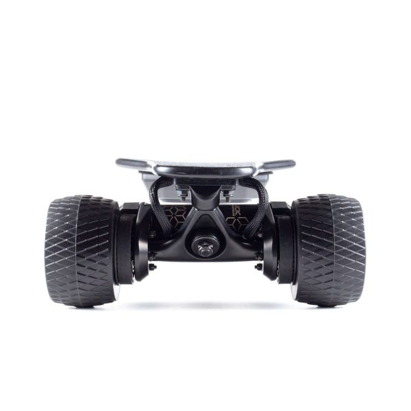 Slick Revolution Flex-E 2.0 electric skateboard rear view