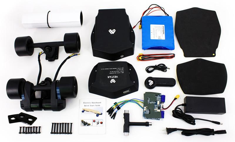 Vestar DIY Electric Skateboard Kit
