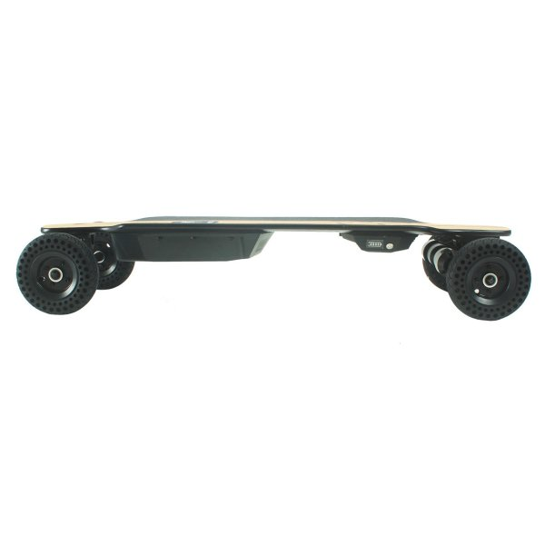 Yecoo GT AT electric longboard side profile