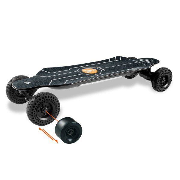 Yecoo GTS 2-In-1 electric longboard