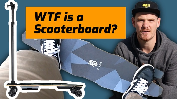 Uditer 3 Review - WTF is a scooterboard?