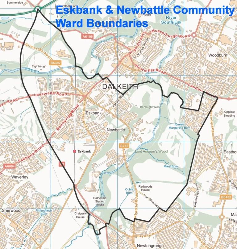 ward boundary