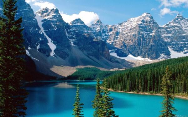 Amazing Mountain Lake Wallpaper 1920x1200 #26684