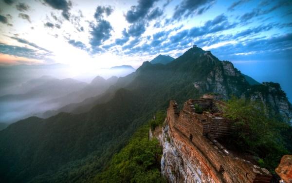 Amazing Mountain Peaks Wallpaper 1920x1200 #26685