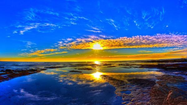 Nature Desktop Backgrounds Sunrise