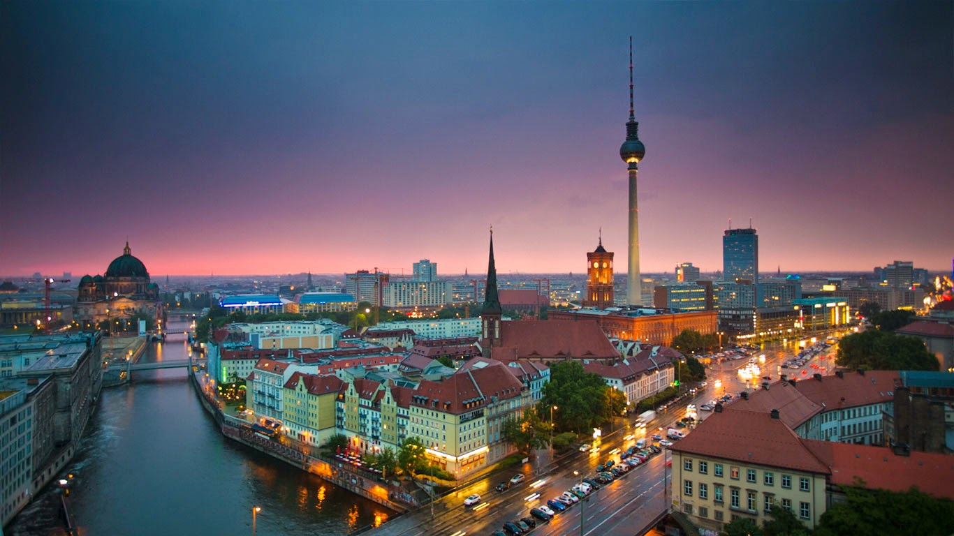 Berlin Wallpaper  1366x768  #77595