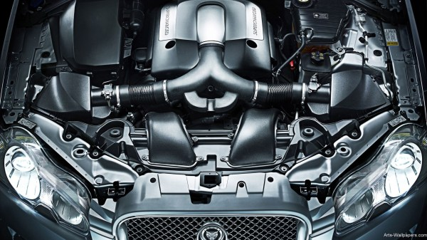 2009 Jaguar XF Engine