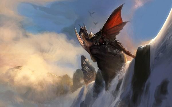 Dragon Waterfall Wallpaper 1920x1200 #10319