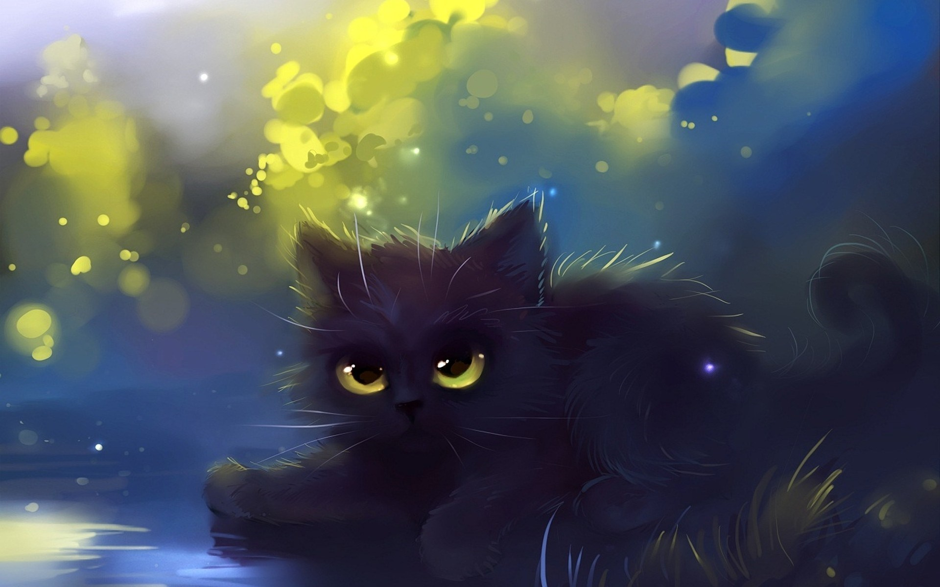 Cool Neon Cat Wallpapers
